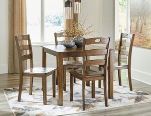 dinette set, kitchen set, kitchen table, chairs, table, ashley furniture