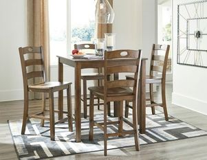 barstool, bar table, ashley furniture, dinette set,