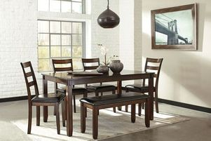 6pc dinette, dining room, dinette set