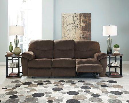 reclining sofa, sofa, reclining, ashley, furniture