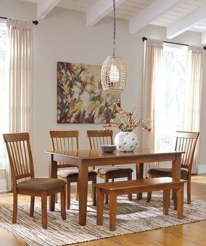 dinette furniture, kitchen furniture, table, chairs, bench, country furniture